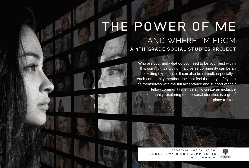The Power of Me: 9th Grade Social Studies Project