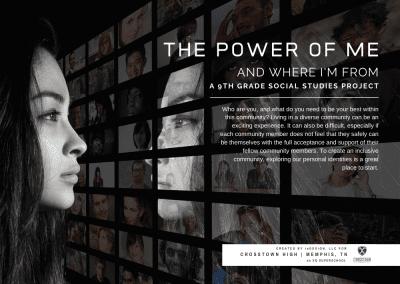 CBL Curriculum: The Power of Me, High School