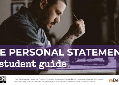 The Personal Statement: Student Guide